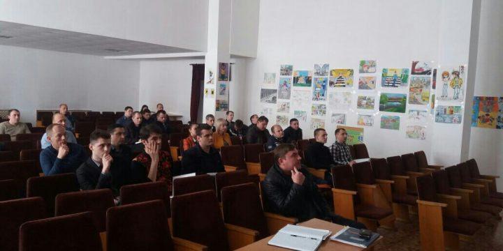 Заняття зі слідчими СУ ГУНП в Одеській області, щодо якісного складення протоколів огляду місць ДТП та схем до нього