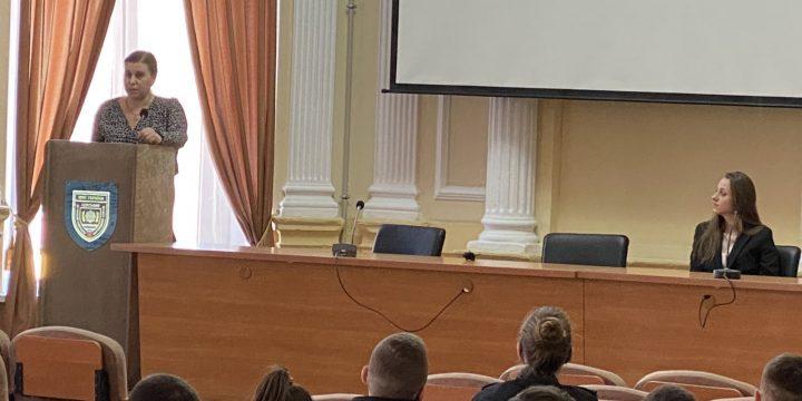 Співпраця з вишами: лекційне заняття для студентів ОДУВС «Підстави призначення судово-криміналістичних експертиз»