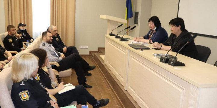 Робоча зустріч з працівниками криміналістичних підрозділів слідчих відділів поліції ГУНП в Одеській області